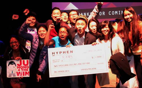 And Mr. Hyphen is... Ju Hong!!